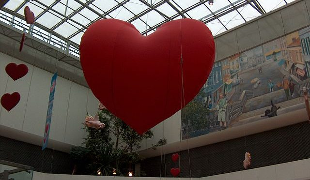 Image: St. Valentine's Day in the City 2 by Mehli Rustu. Used through a Creative Commons license.
